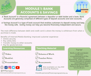 PFP_MODULES_POST_BANK ACCOUNTS, SAVINGS