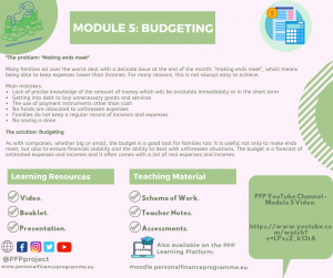 PFP_MODULES_POST_MODULE 5 BUDGETING