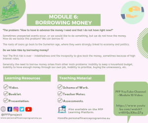 PFP_MODULES_POST_MODULE 6 BORROWING MONEY
