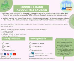 PFP_MODULES_POST_BANK ACCOUNTS, SAVINGS